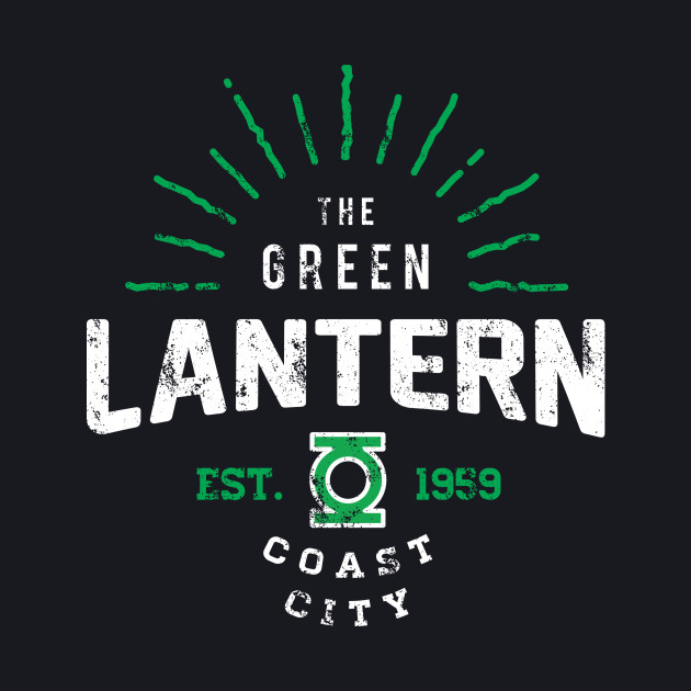 Green Lantern - Coast City