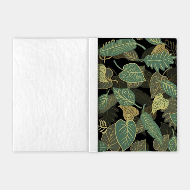 Dark Leaves Nature Texture