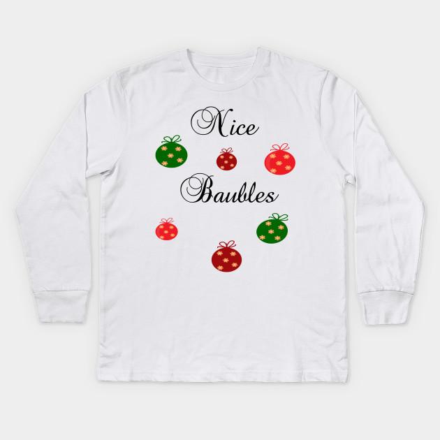 Santa Claus Suit Funny Novelty Christmas Gift Youth Kids T-Shirt Xmas