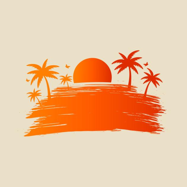 Twilight Summer Beach Corona Covid
