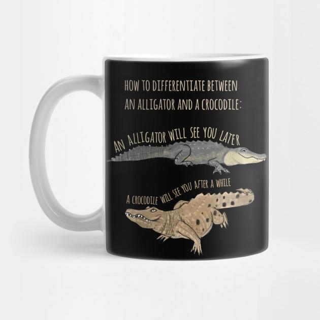 936bf29c67b Funny Alligator and Crocodile T-Shirt by ahadden