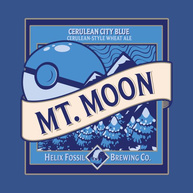 mt moon beer tv tshirt teepublic