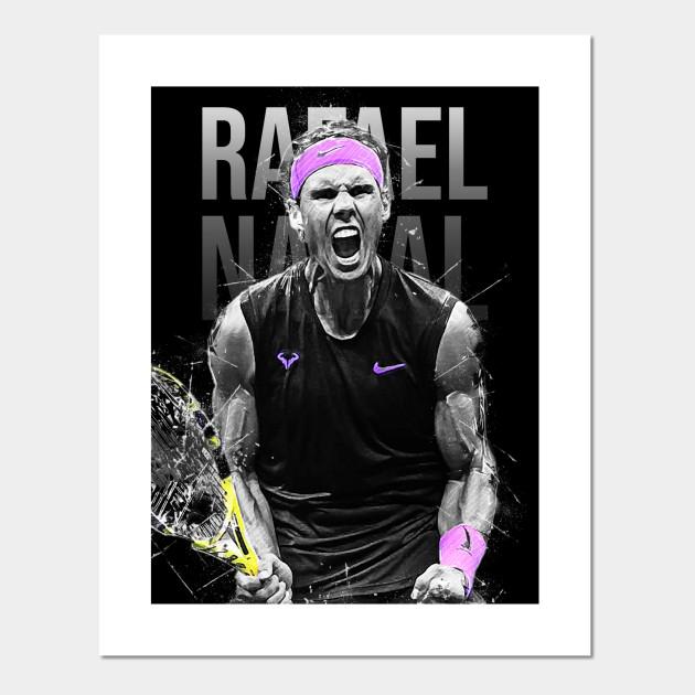 Rafael Nadal Rafael Nadal Posters And Art Prints Teepublic