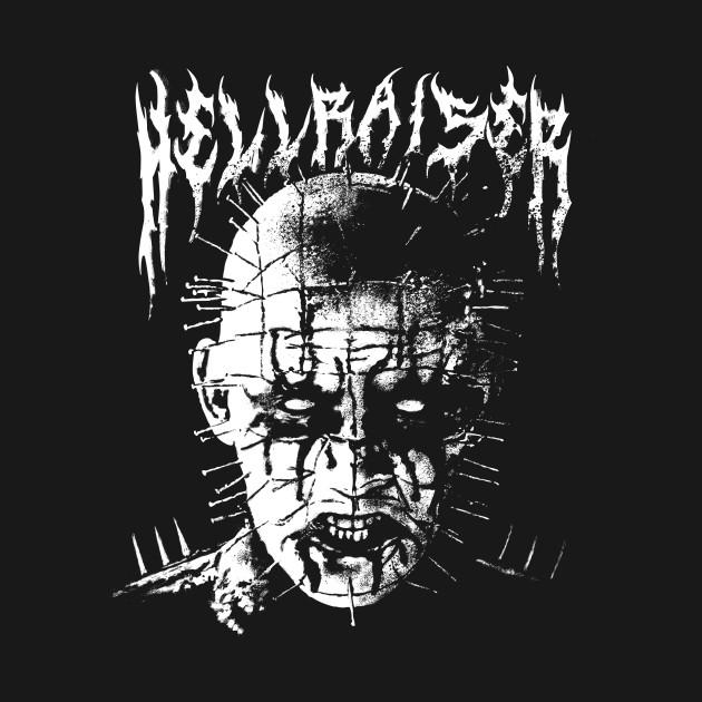 black metal pinhead hellraiser crewneck sweatshirt teepublic