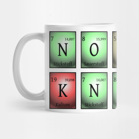 nobody knows Mug