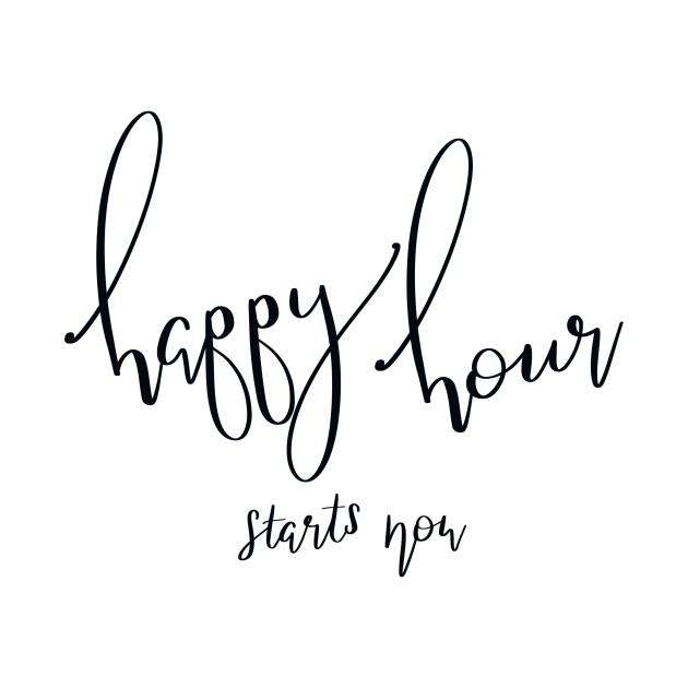 Happy Hour Starts Now!