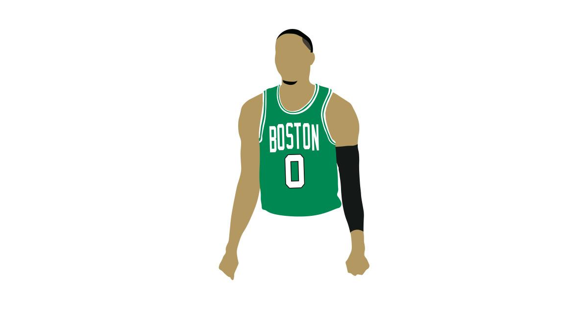 the best attitude 7b1e4 9f685 Jayson Tatum Celtics
