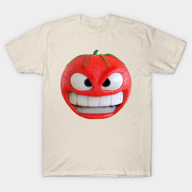 Tomato Face - Funny Tomatoes - T-Shirt  077e7c00f6d7