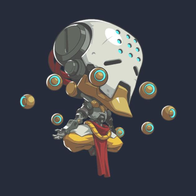 Overwatch Zenyatta Cute Spray - Overwatch Cute Spray - T-Shirt ...