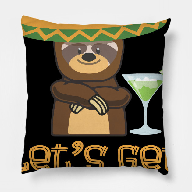 6da31a64a Sloth Cinco De Mayo Shirt Funny Get Slothed Drinking T-Shirt - Sloth ...