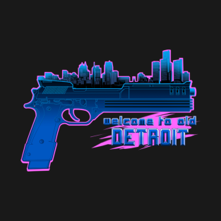 Welcome to Old Detroit t-shirts