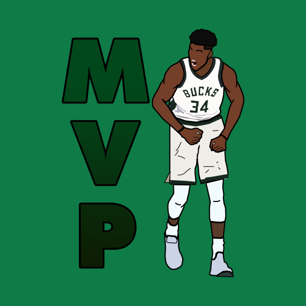 newest 724c1 5c34a Giannis Antetokounmpo MVP - NBA Milwaukee Bucks