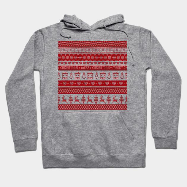 Fair Isle Christmas Sweater.Nordic Fair Isle Christmas Pattern