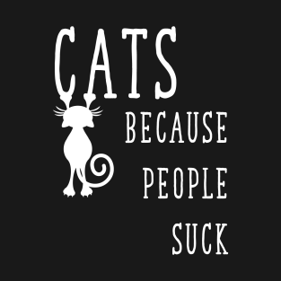 Cats Because People Suck