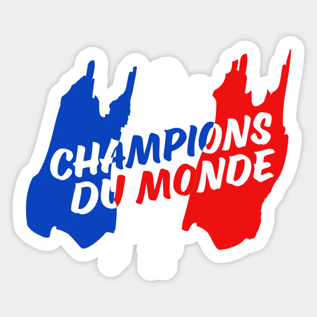 France Soccer World Champions 2018
