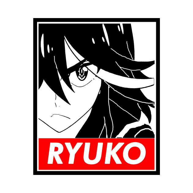 "Ryuko Kill la Kill ""Obey"" style"