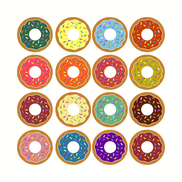 16 Donuts