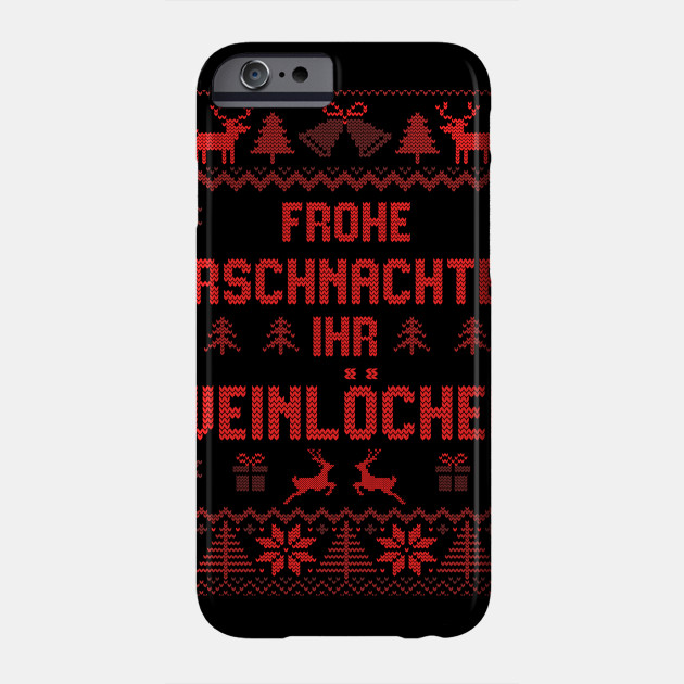 Ugly Christmas Sweater Christmas santaclaus Phone Case
