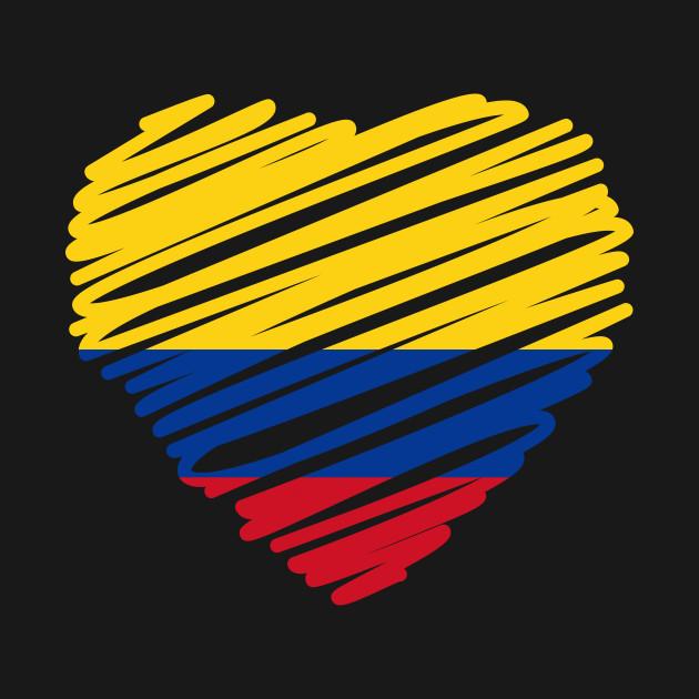 c5613781791 Colombian Flag - Colombian Flag - T-Shirt | TeePublic