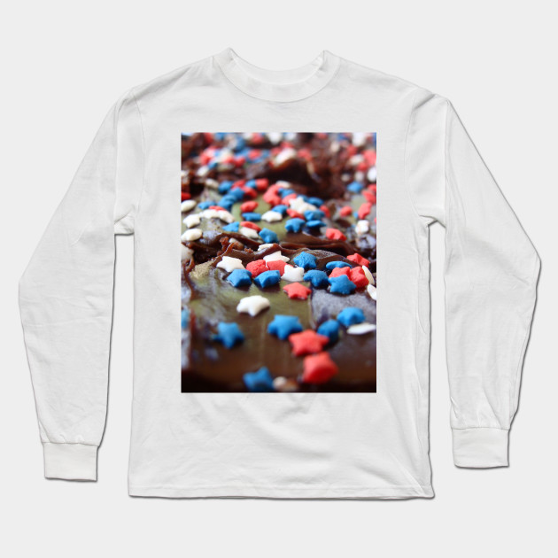 4th of July Pastry Long Sleeve T-Shirt