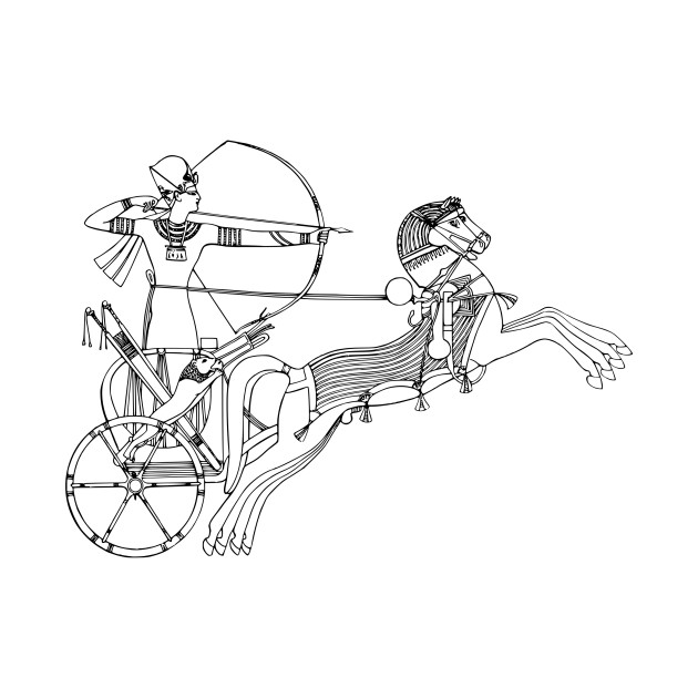 Limited Edition Exclusive Egyptian Chariot