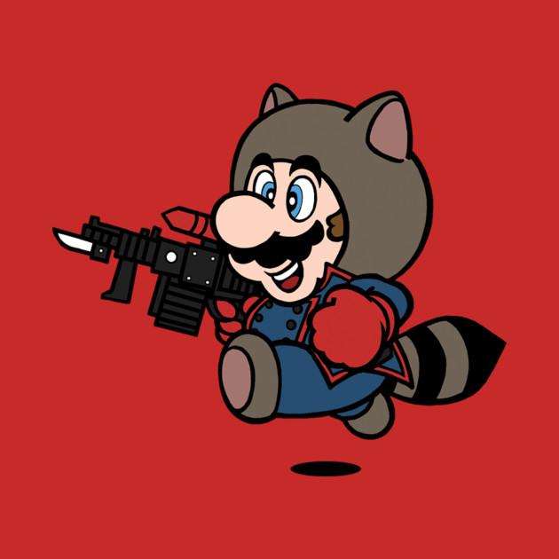 Rocket Raccoon Mario