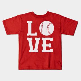Cool Baseball Love T shirt Design - Baseballl Love - T-Shirt ...