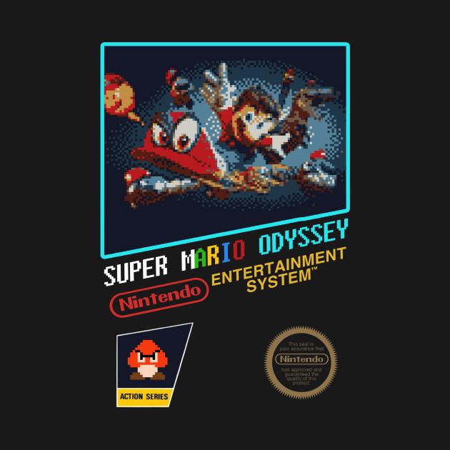Nintendo Switch Super Mario Odyssey NES Design
