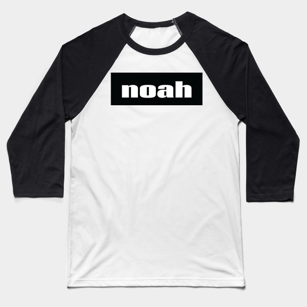 Noah Name Baseball T-Shirt