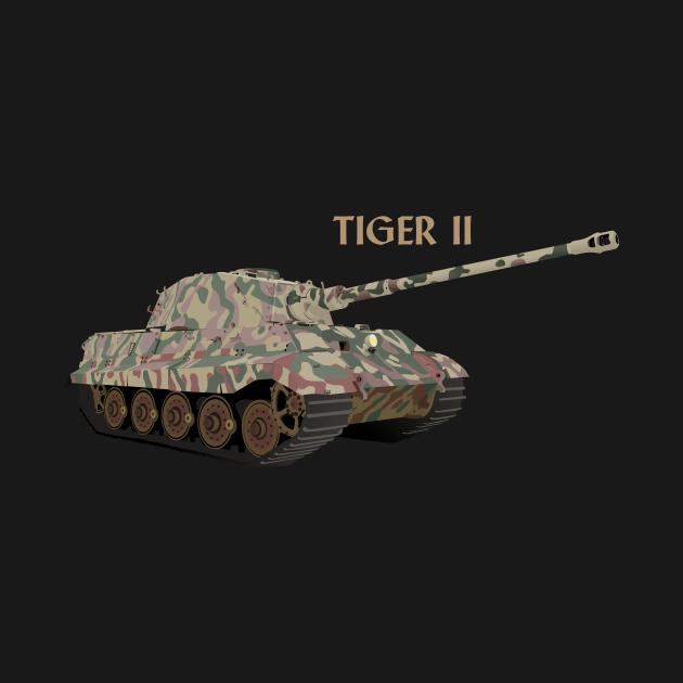 Tiger II German WW2 Battle Tank