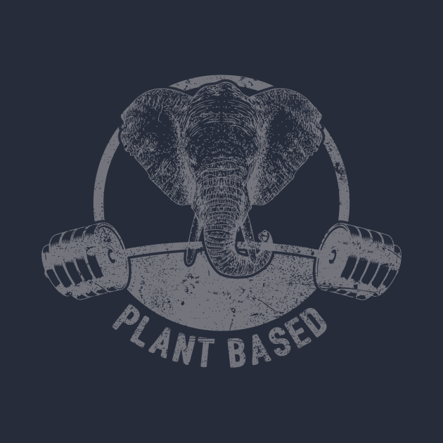 Plant Based Vegan Elephant