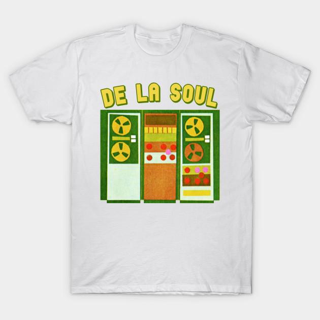 All Sizes /& Colours De La Soul Adult Ringer T-Shirt