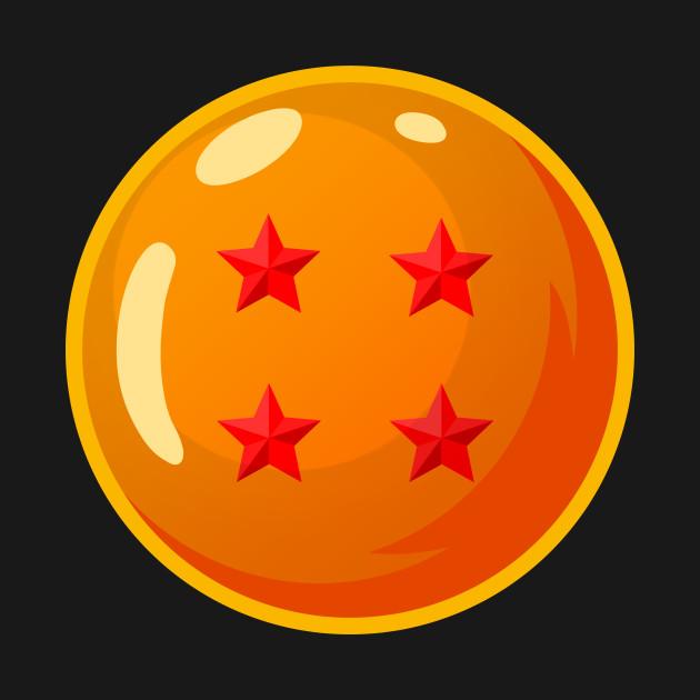 ded1a276 4-Star Dragonball (Pocket) - DBZ - Dragonball - T-Shirt | TeePublic