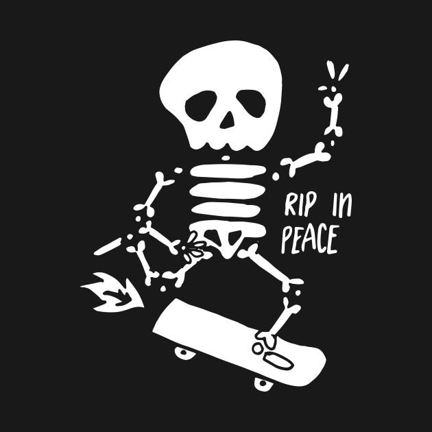RIP in Peace - White