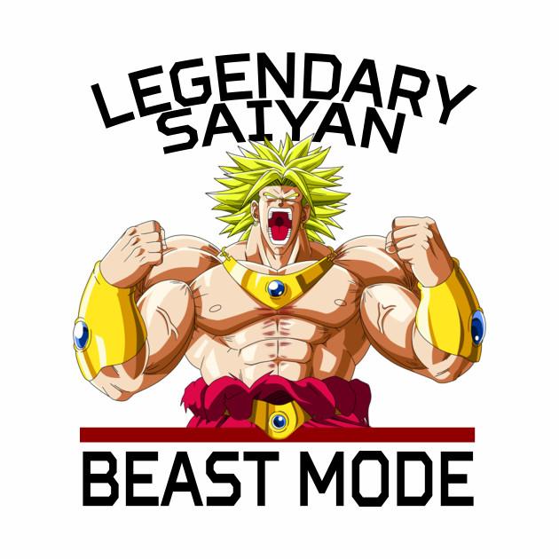Beast mode - Legendary Saiyan Broly