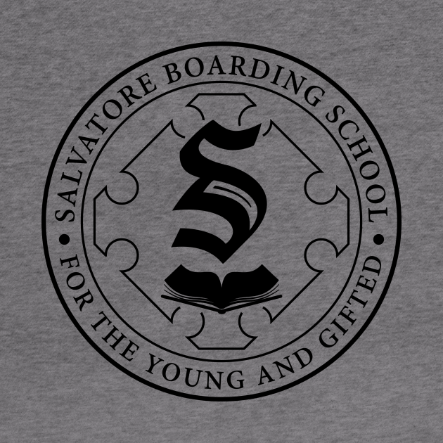 Salvatore Boarding School Crest