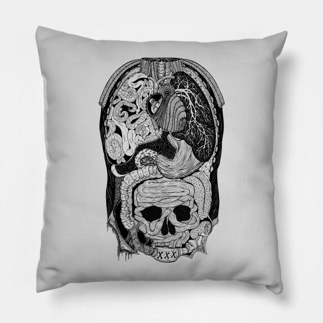 Gross Anatomy Anatomy Pillow Teepublic