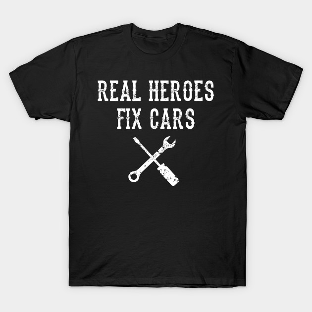 Mechanic Car Garag Phrase Hero Gift Idea