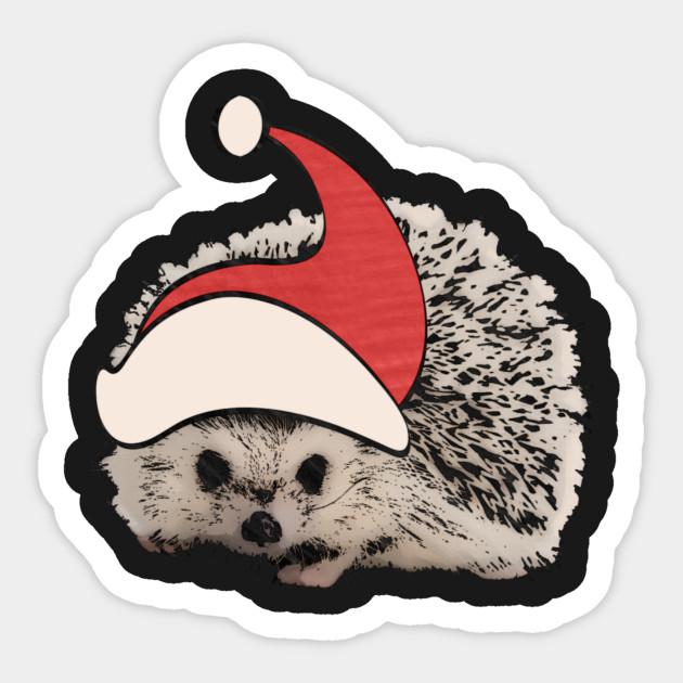 7a39a0dd7b2d3 Hedgehog Christmas Santa Elf Vintage Novelty Gift - Hedgehog ...