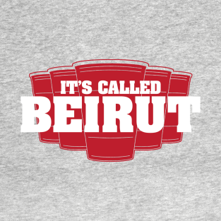 It's Called Beirut t-shirts