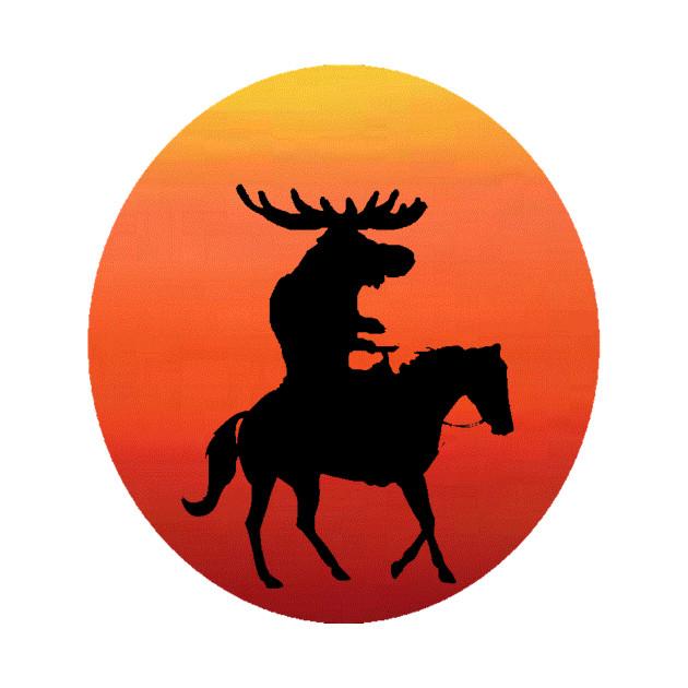 e977b912e061 Wild Horses - Moose - Onesie
