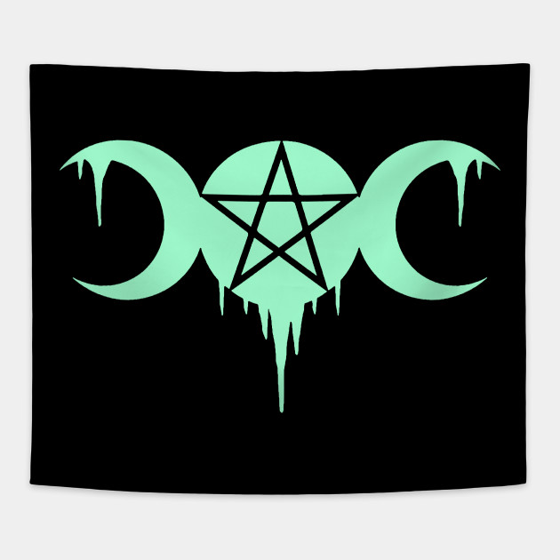 WICCA, WITCHCRAFT, TRIPLE MOON