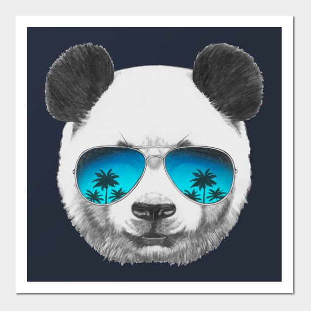 Panda with sunglasses