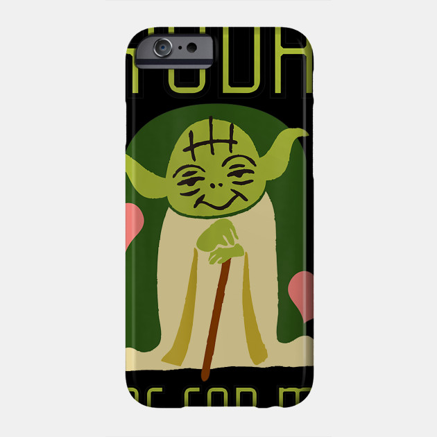 Cute Valentine's Graphic T-Shirt Phone Case