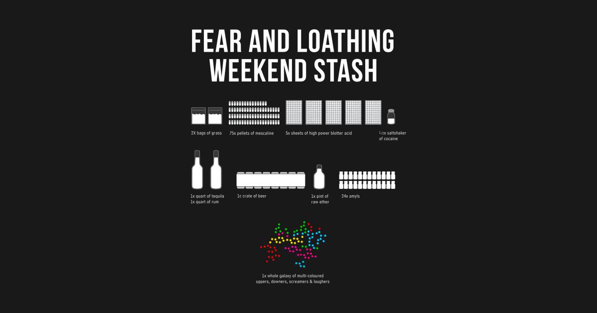 Fear And Loathing Weekend Stash Fear And Loathing In Las