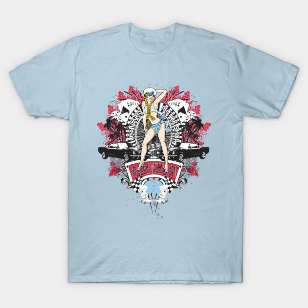 d83674bd2b Pin Up Girl - Car Show No.01 - Pin Up Girl - T-Shirt | TeePublic