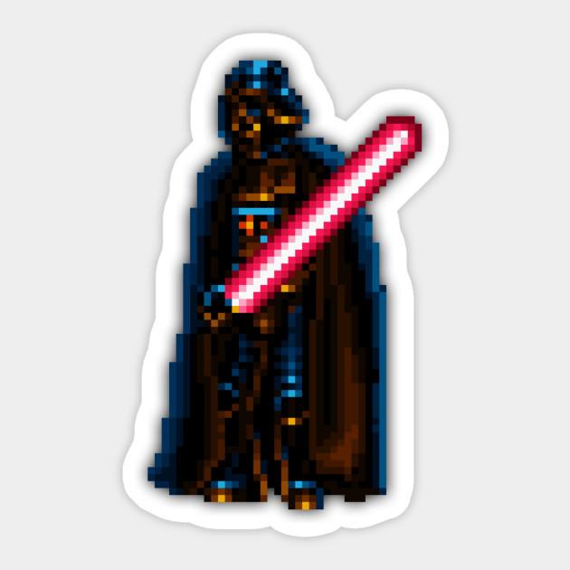 Darth Vader Snes Low Res Pixelart