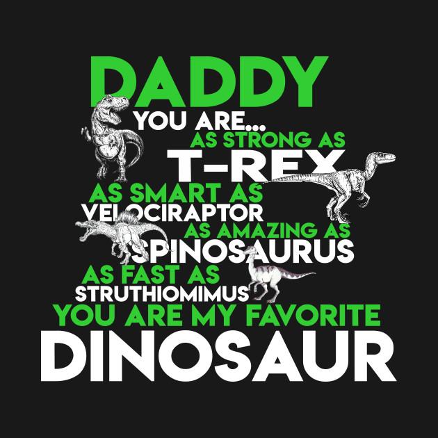 84709aa6 Daddy Dinosaur - Dinosaur - Kids T-Shirt   TeePublic