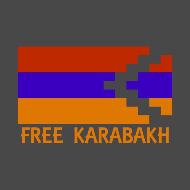 Free Karabakh - Orange