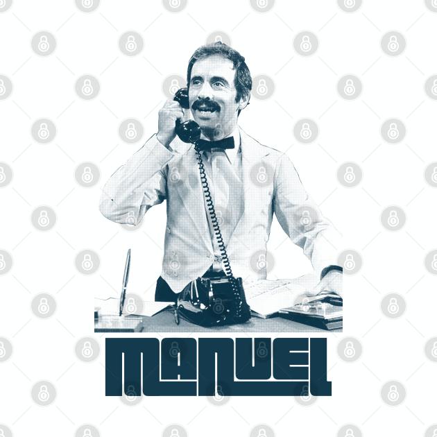 Manuel / Fawlty Towers Retro Fanart Design